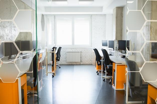 Espace de travail d'une petite équipe professionnelle