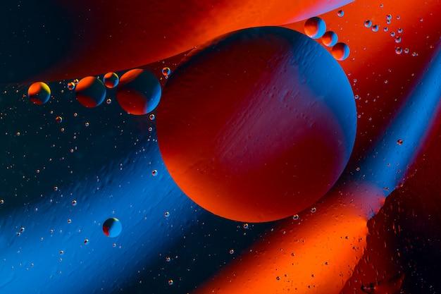 Espace ou univers planétaire abstrait cosmique.