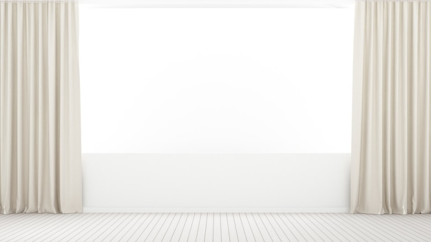 L'espace vide minimal intérieur de la maison