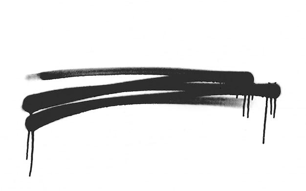 Esquisse forme de pulvérisation splat texturé