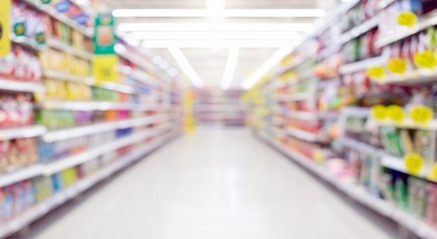 Étagère flou abstraite pour le fond du concept marketing et commercial
