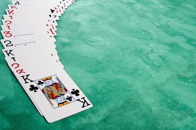 Étalement des cartes