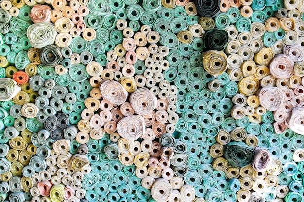 Étape de fabrication du papier mûrier et des produits en papier mûrier.