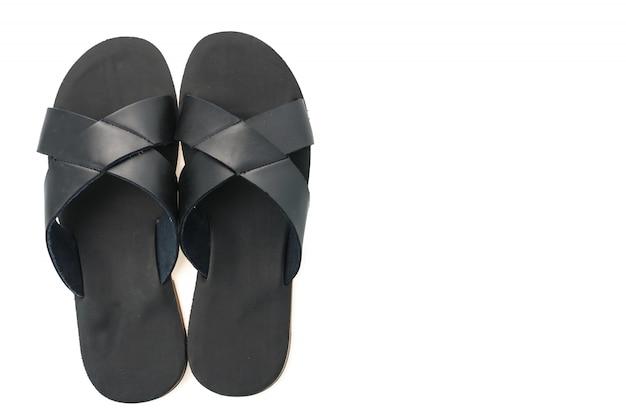 Été sandales pantoufle marron décontracté