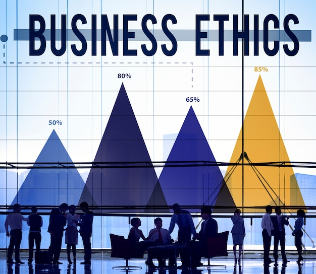 Ethique des affaires honnêteté idéologie concept d'intégrité