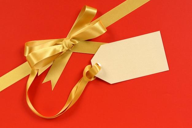 Étiquette de cadeau de noël