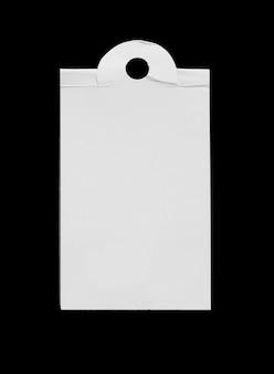 Étiquette de prix papier isolé