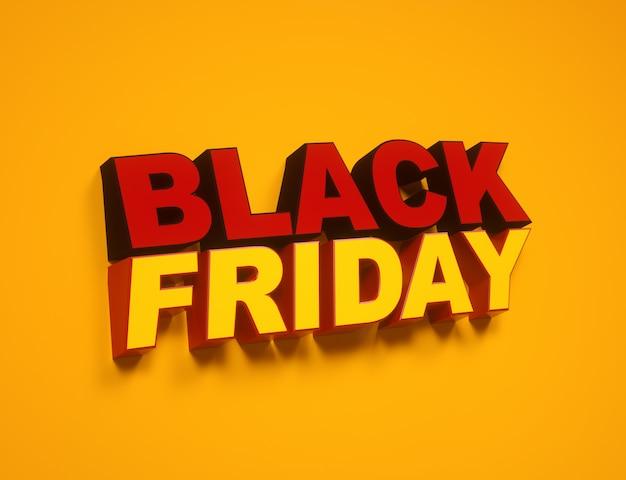 Étiquette de vente du vendredi noir