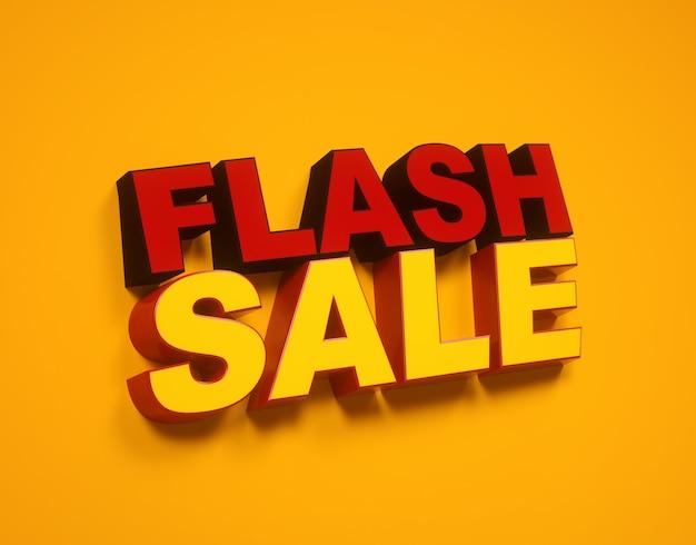 Étiquette de vente flash