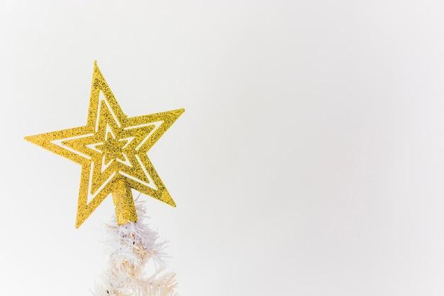 Étoile arbre de noël