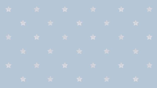 Étoiles argentées scintillantes sans soudure