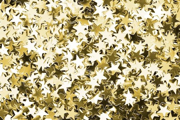 Étoiles d'or à motifs fond