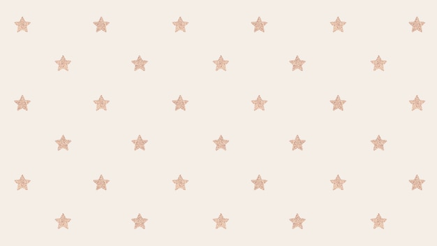 Étoiles d'or scintillantes sans soudure
