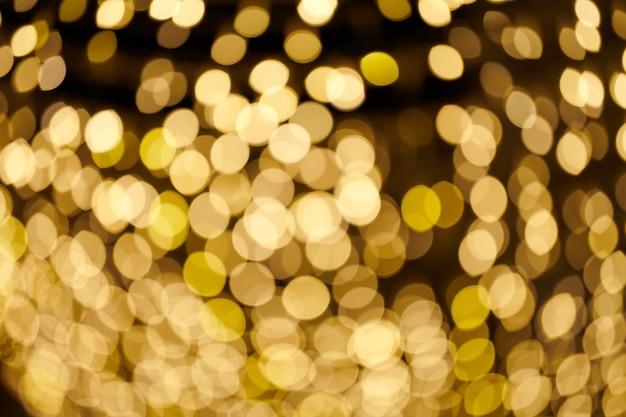 Étoiles scintillantes de fond bokeh