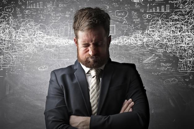 Être stressé et en colère