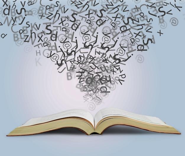 Étude de dictionnaire traduction livre de fond bilingue anglais