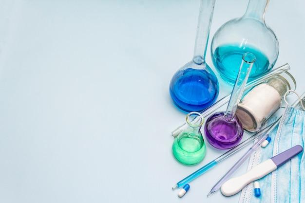 Études en laboratoire sur les coronavirus. pandémie mondiale covid-19, 2019-ncov, sars-cov-2