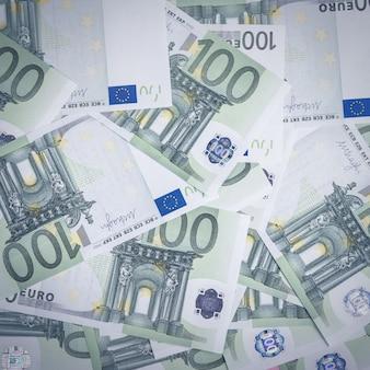 Euro money. surface de caisse en euros. billets d'argent euro.