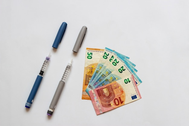 Euro va acheter de l'insuline insuline pour les diabétiques