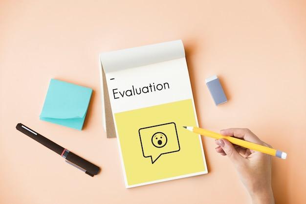 Évaluation du service de satisfaction client examen