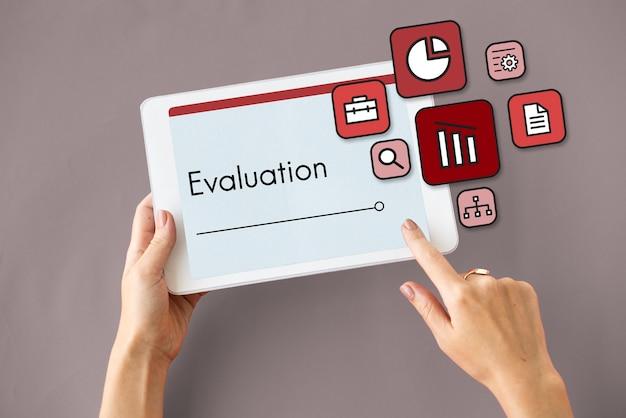 Évaluation de la stratégie d'évaluation prioriser les icônes