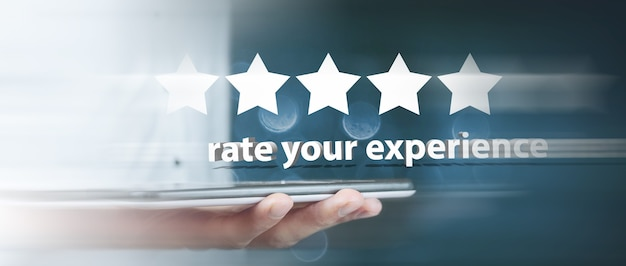Évaluez votre expérience 5 étoiles