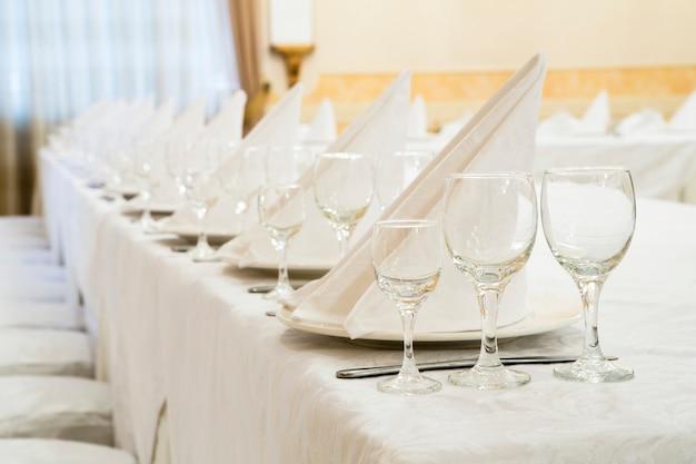 Événement au restaurant banquet, mariage, fête