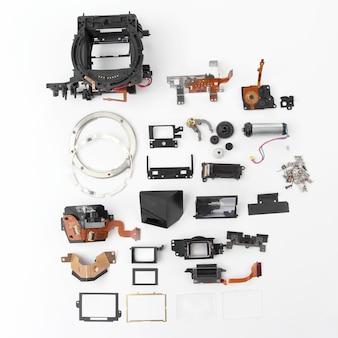 Examen en détail de l'appareil photo numérique à obturateur électronique