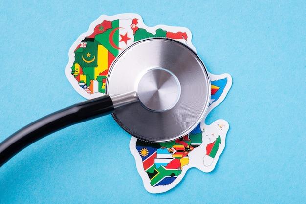 Examen médical dans les pays d'afrique
