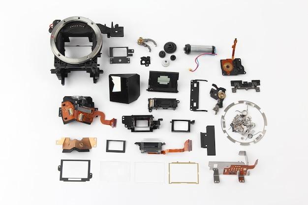 Examiné en détail l'appareil photo numérique à obturateur électronique