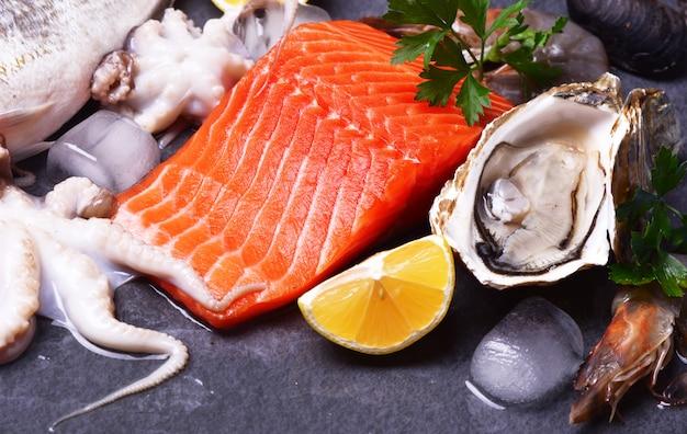 Un excellent choix de fruits de mer pour tous les goûts