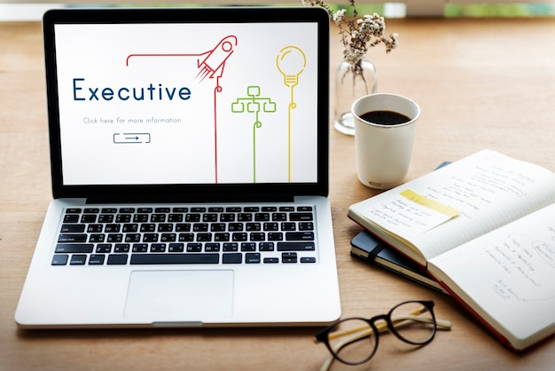 Executive business professional success manager