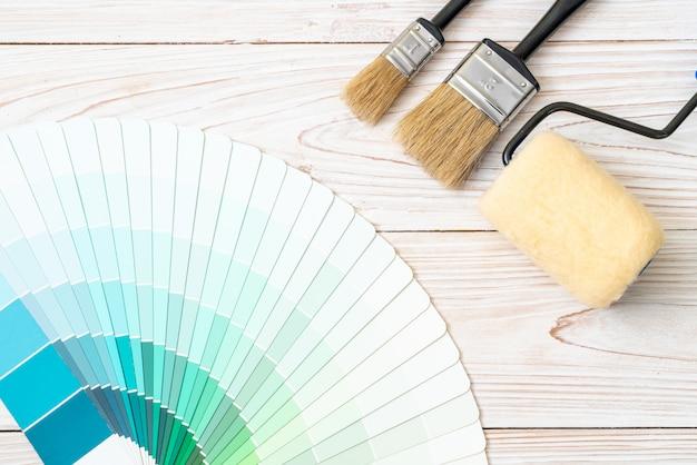 Exemple de catalogue de couleurs pantone ou nuancier