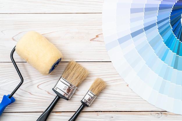 Exemple de catalogue de couleurs