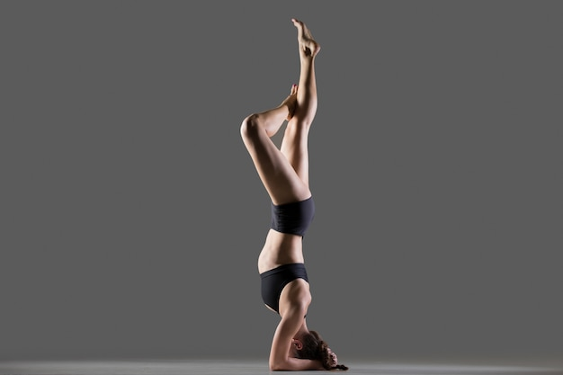 Exercice headstand