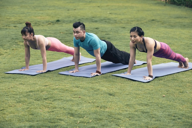 Exercice de planche