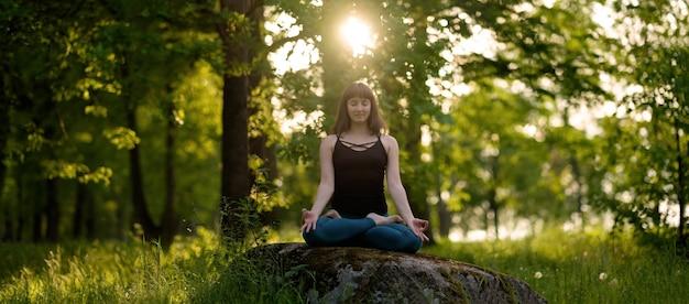 Exercice de vie saine méditation