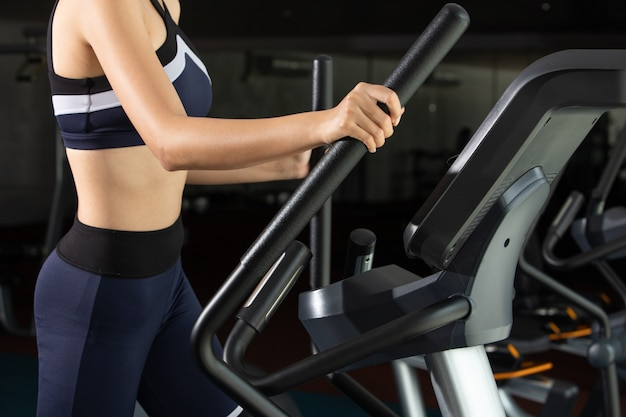 Exercices femme fitness musculaire