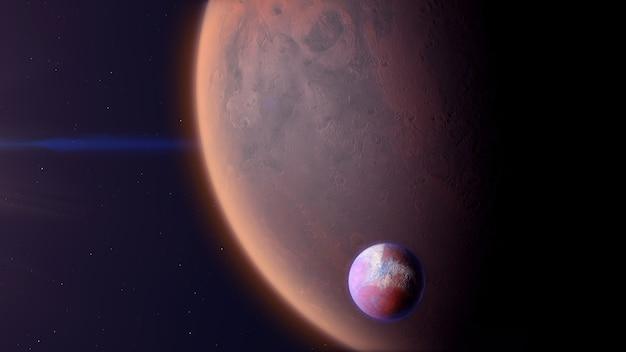 Exoplanète de type désert