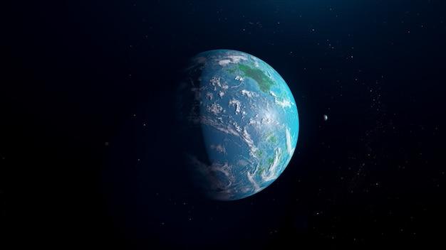 Exoplanète de type océan