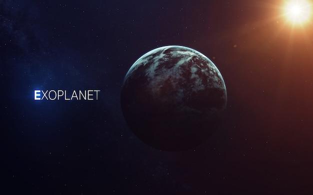 Exoplanètes trappistes-1e loin du système solaire