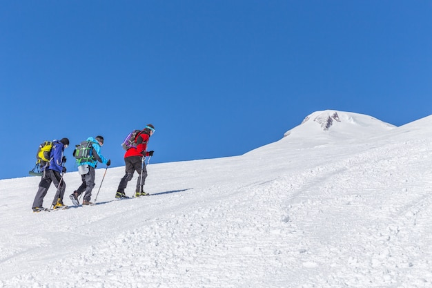 Expédition en montagne