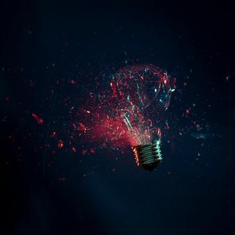 Explosion d'ampoule