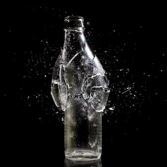 Explosion de la bouteille