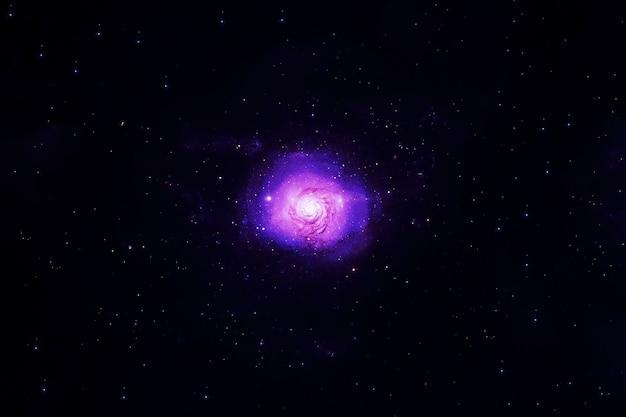 Explosion d'une étoile dans l'espace ouvert. les éléments de cette image ont été fournis par la nasa. photo de haute qualité