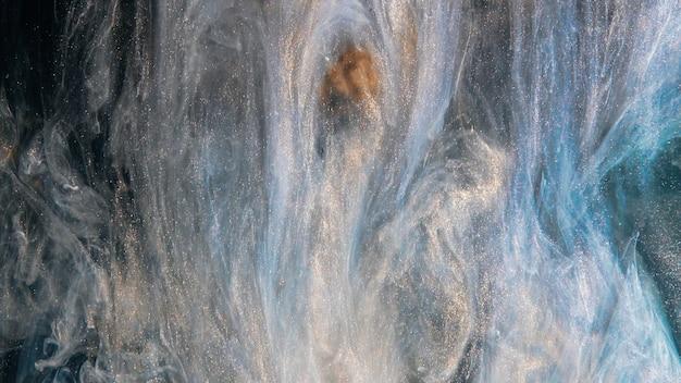 Explosion de fumée abstraite