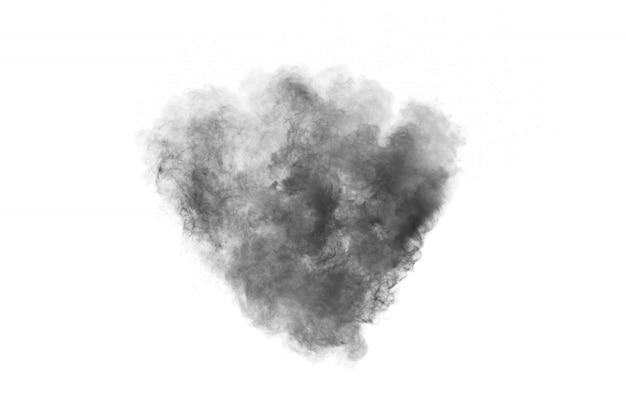 Explosion de poudre noire