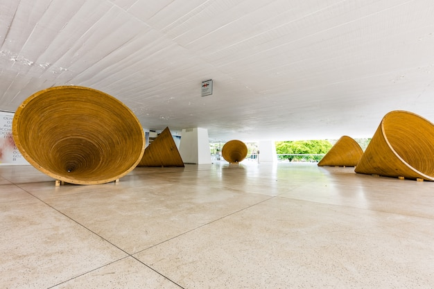 Exposition au musée oscar niemeyer