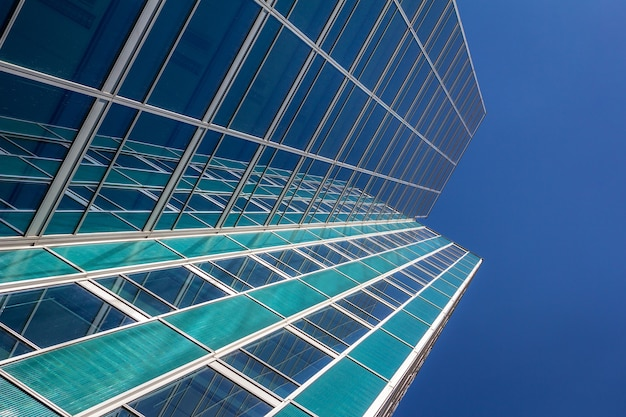 Extérieur de l'immeuble de bureaux d'affaires moderne.