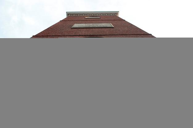 Extérieur, vieux, église nord, boston, massachusetts, usa
